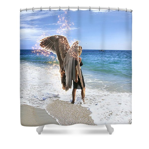 Stand Your Ground I Am With You Shower Curtain