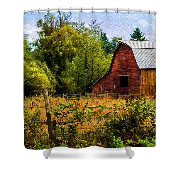 Standing The Test Of Time Shower Curtain