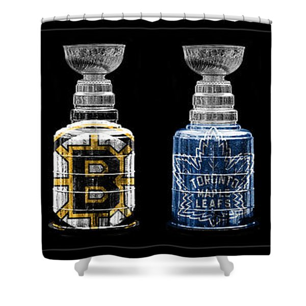 Stanley Cup Original Six Shower Curtain