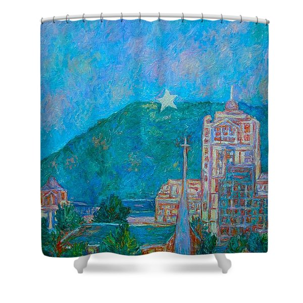 Star City Shower Curtain
