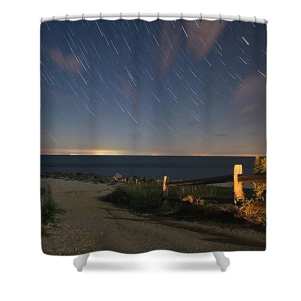 Star Light Point Shower Curtain