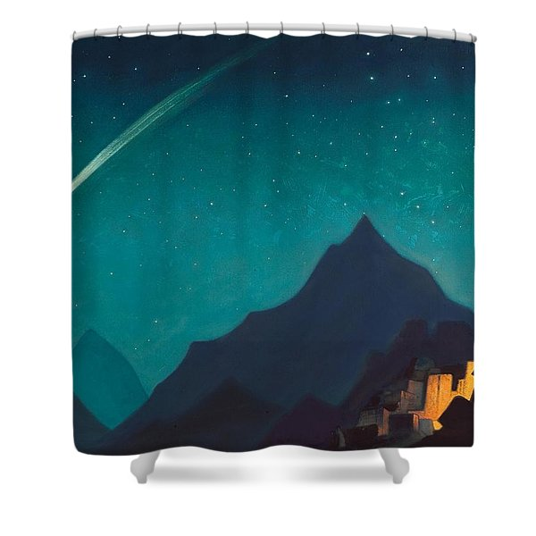Star Of The Hero Shower Curtain