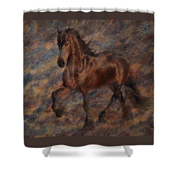 Shower Curtain featuring the photograph Star Of The Show by Melinda Hughes-Berland