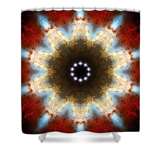 Starburst Galaxy M82 I Shower Curtain