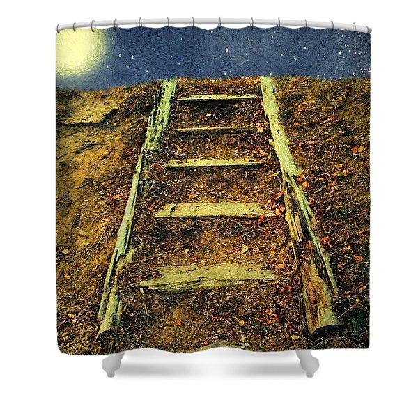 Starclimb Shower Curtain