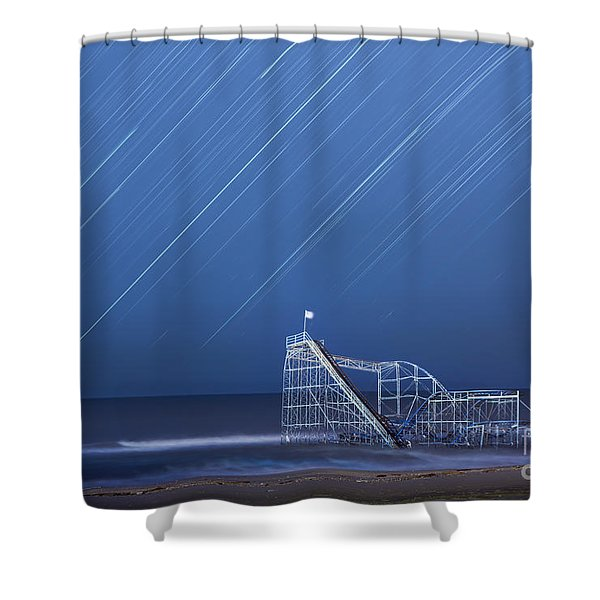 Starjet Under The Stars Shower Curtain