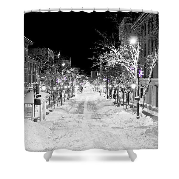 State Street Madison Shower Curtain