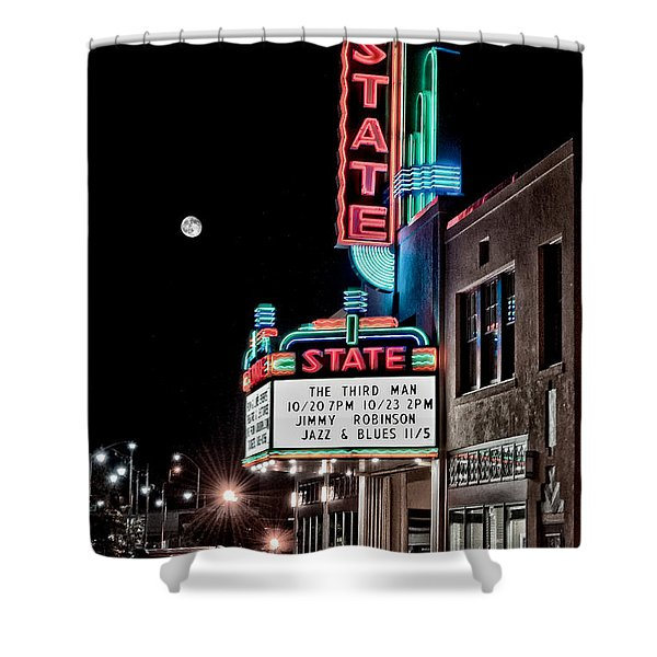 State Theater Shower Curtain