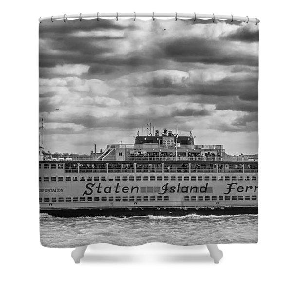 Staten Island Ferry 10484 Shower Curtain