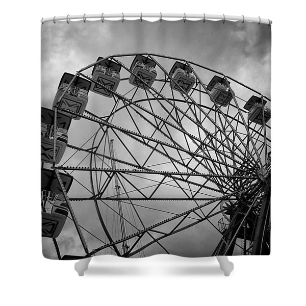 Stationary In The Morning Shower Curtain