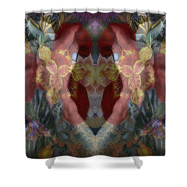 Statues Shower Curtain