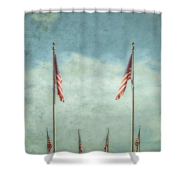 Steadfast Shower Curtain
