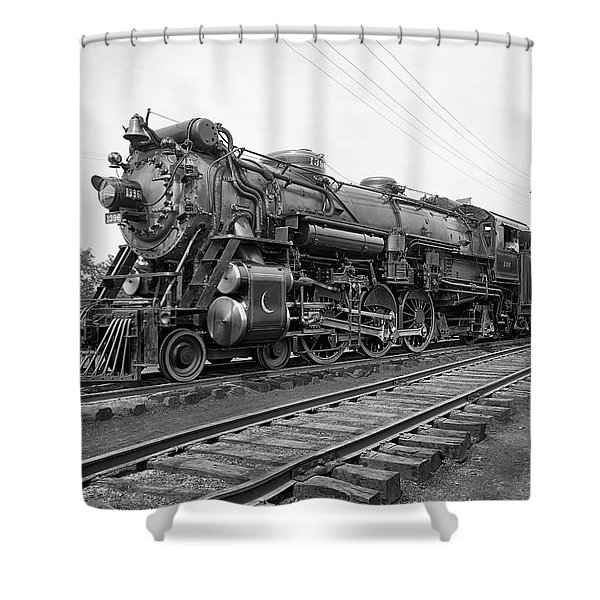 Steam Locomotive Crescent Limited C. 1927 Shower Curtain