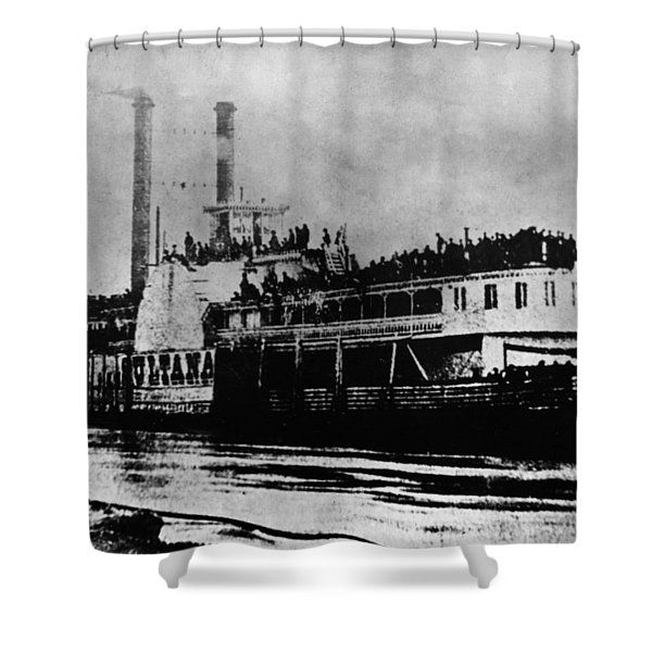 Mississippi Riverboat Shower Curtains (Page #2 of 5) | Fine Art America