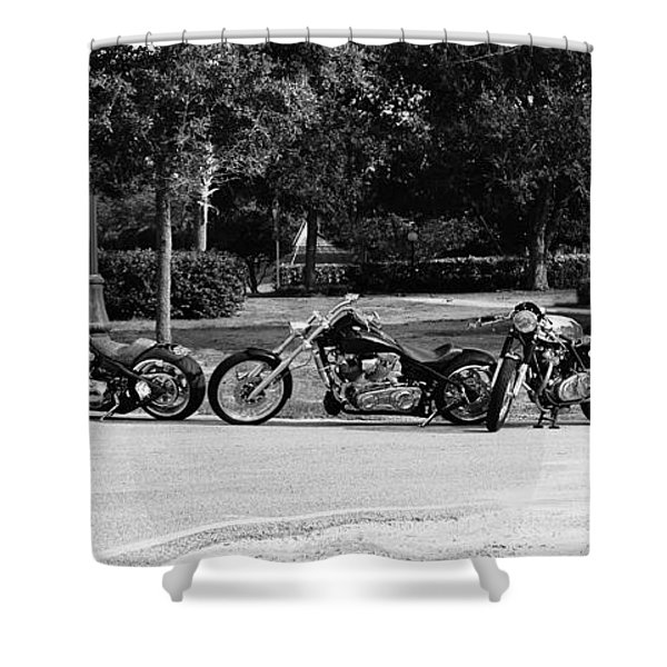 Steel Horses Shower Curtain