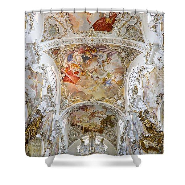 Steingaden Abbey Shower Curtain