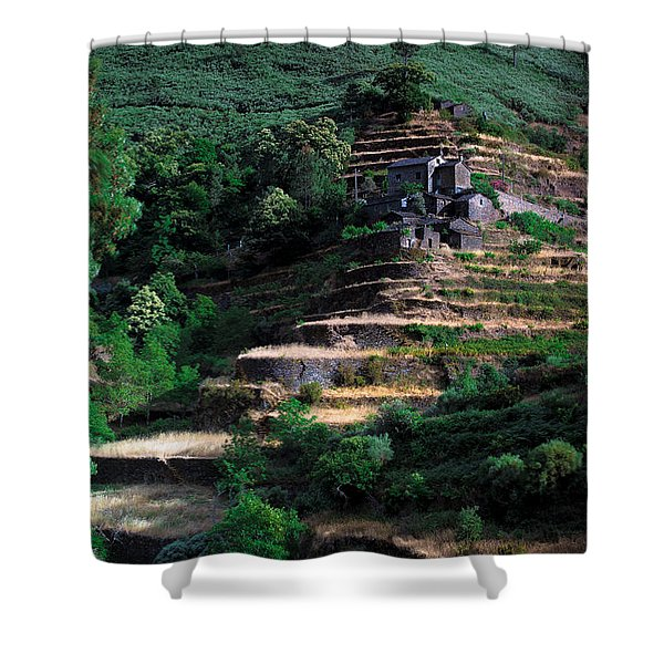 Step By Step Up Shower Curtain
