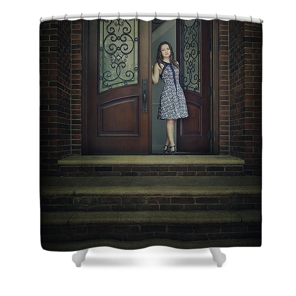 Step Into My Dream Shower Curtain