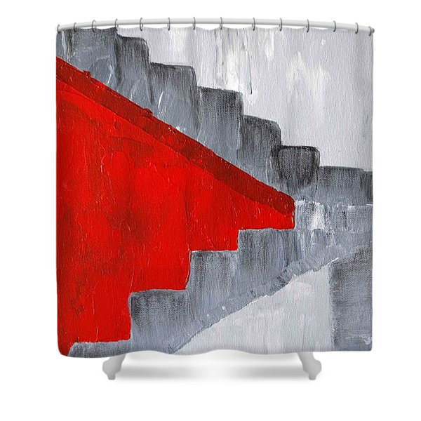 Step Up 2 Shower Curtain