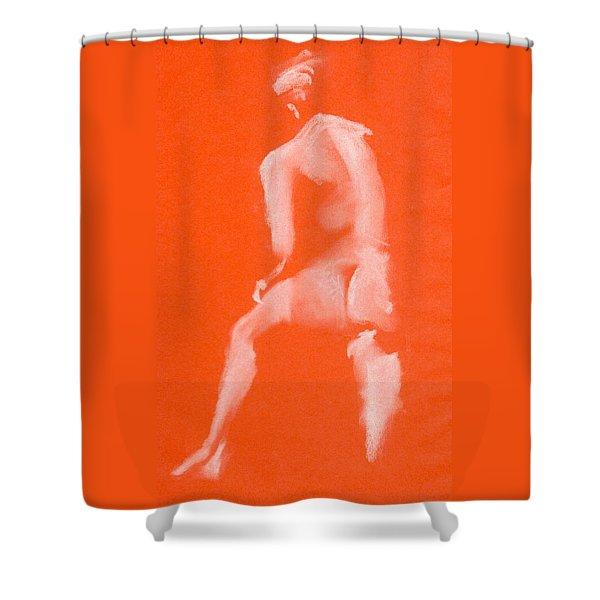 Step Up Ett Fotsteg Upp Shower Curtain