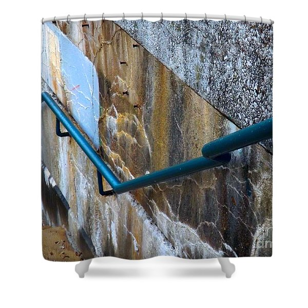 Stepping Outside The Lines Shower Curtain