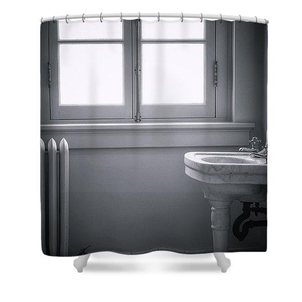 Sterile Shower Curtain