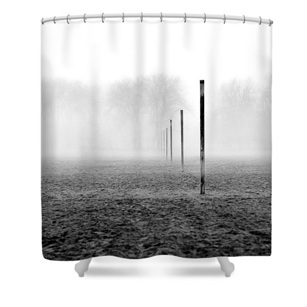 Sticks Ashbridges Bay Toronto Canada Shower Curtain