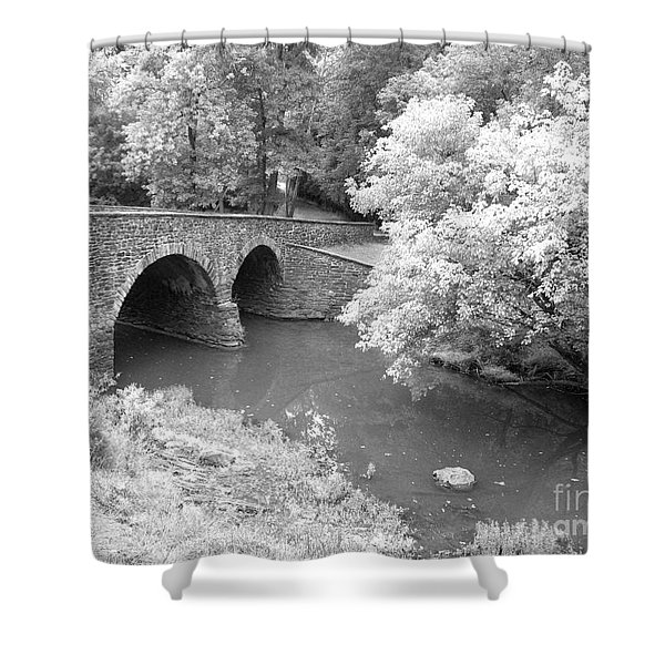 Stone Bridge - Manassas Shower Curtain