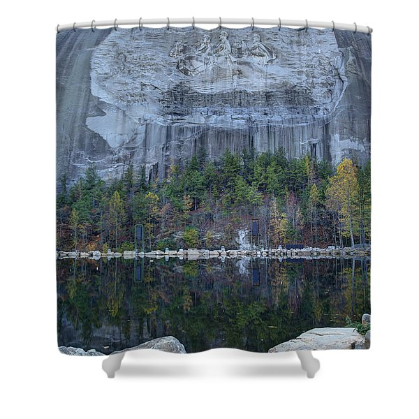 Stone Mountain - 2 Shower Curtain