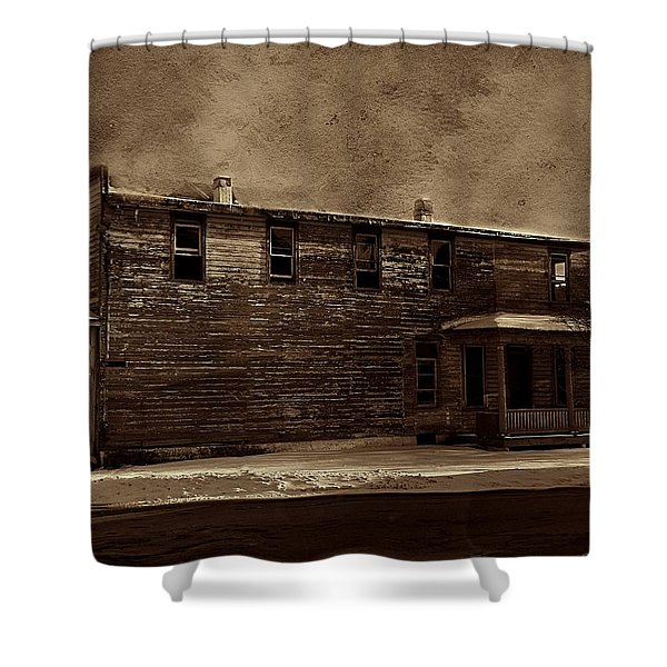 Storm Of 1888 Shower Curtain
