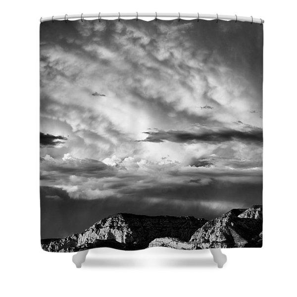 Storm Over Sedona Shower Curtain
