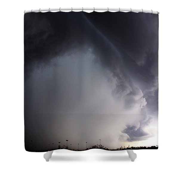 Storms Fury Award Winner Shower Curtain