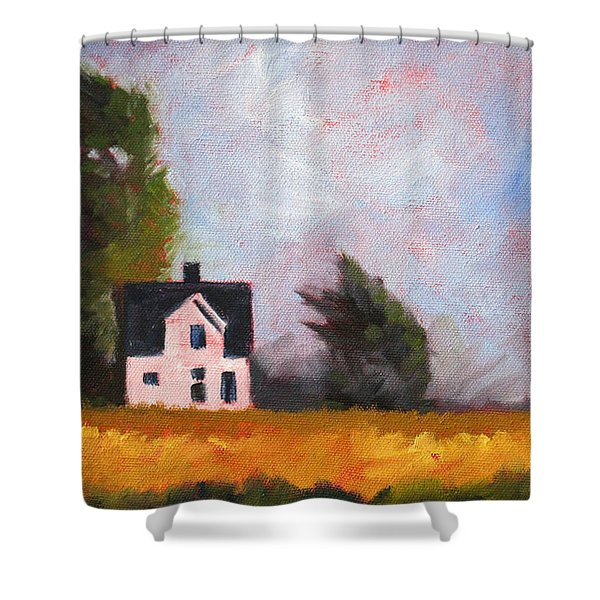 Stormy Afternoon Shower Curtain