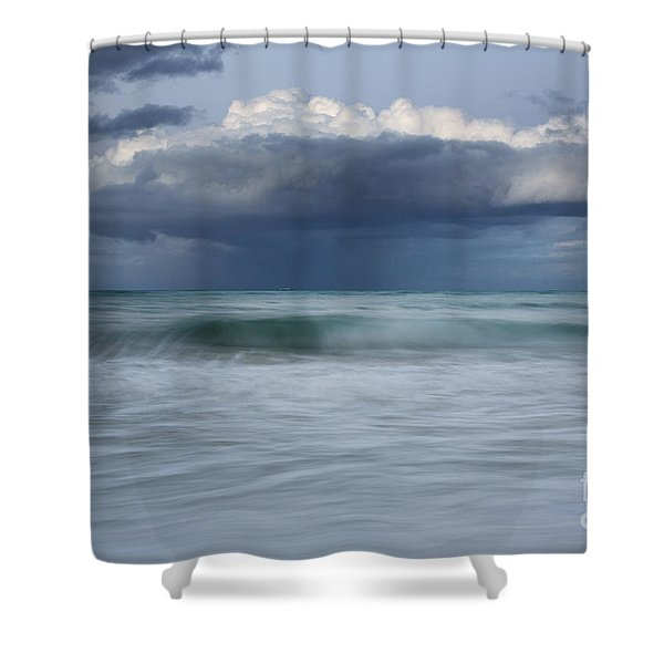 Stormy Ocean Shower Curtain