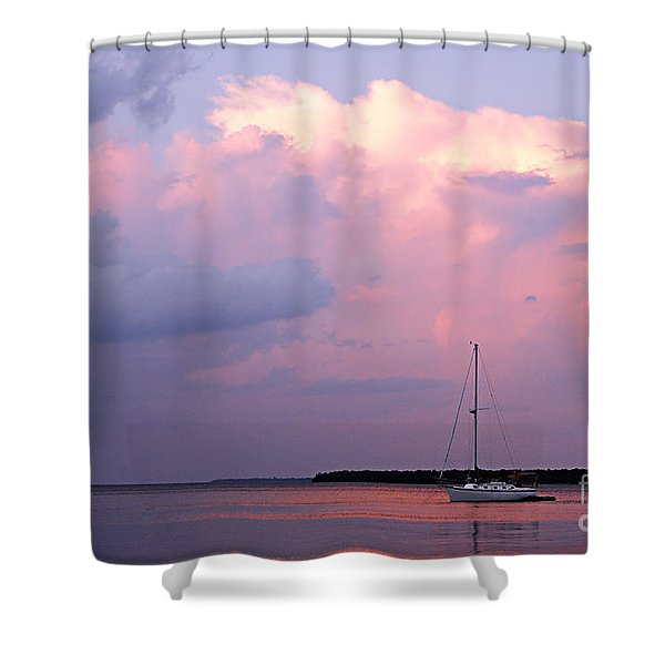 Stormy Seas Ahead Shower Curtain