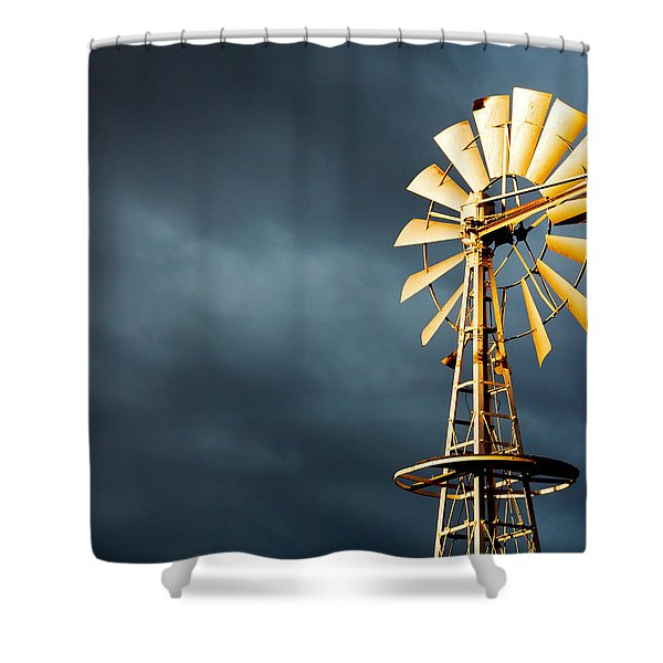 Stormy Skies Shower Curtain