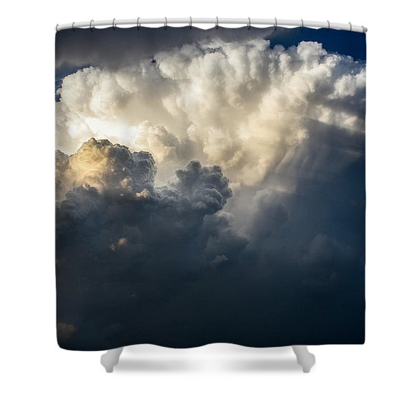 Stormy Stew Shower Curtain