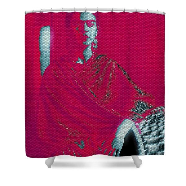 Strange Frida Shower Curtain