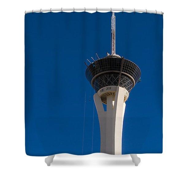 Stratosphere Las Vegas Shower Curtain