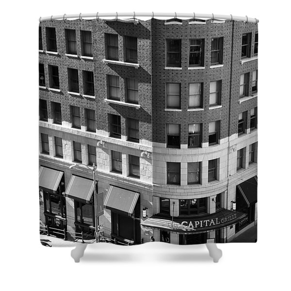Street Corner Shower Curtain