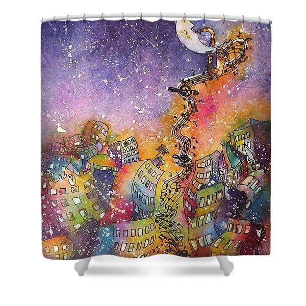 Street Dance Shower Curtain