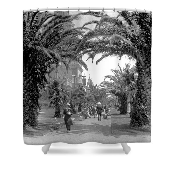 Avenue Of The Palms, San Francisco Shower Curtain