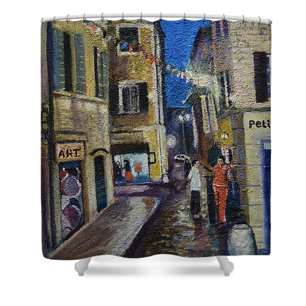 Street View Provence 2 Shower Curtain