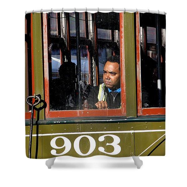 Streetcar 903 Shower Curtain