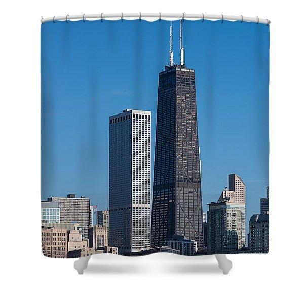 Streeterville Chicago Illinois Shower Curtain
