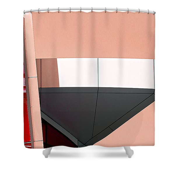 Study In Architecture Shower Curtain