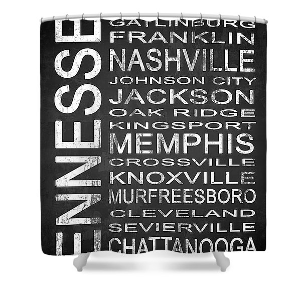 Subway Tennessee State 1 Shower Curtain