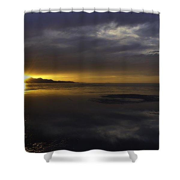 Sudden Glow Shower Curtain