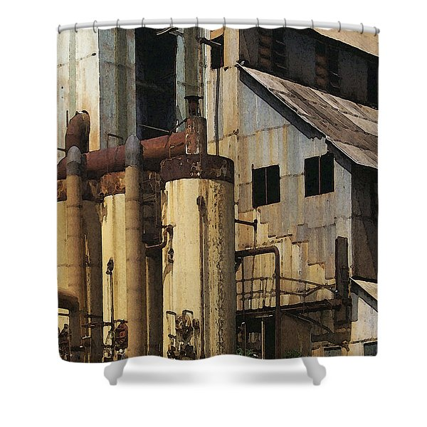 Sugar Factory Shower Curtain