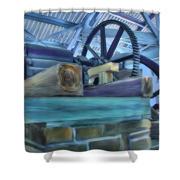 Sugar Mill Gizmo Shower Curtain